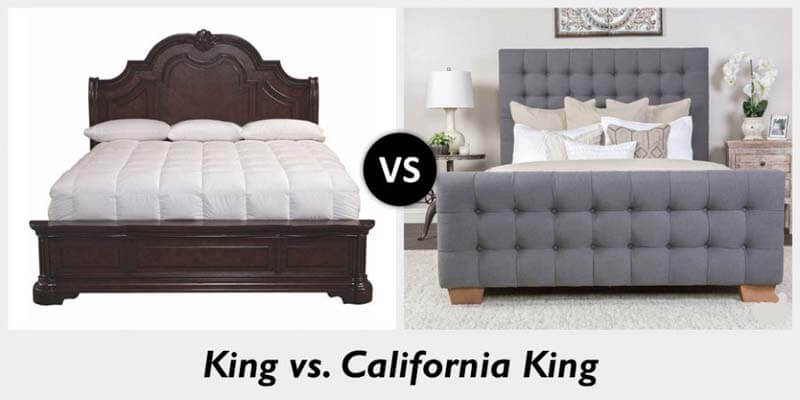 what is the difference between king and california king. Black Bedroom Furniture Sets. Home Design Ideas